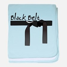 Black Belt baby blanket