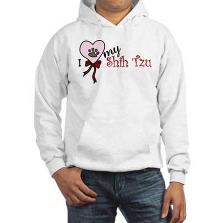 Love My Shih Tzu Hooded Sweatshirt