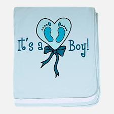 It's A Boy baby blanket