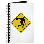 Bowling Crossing Sign Journal