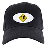 Bowling Crossing Sign Black Cap