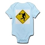 Bowling Crossing Sign Infant Bodysuit