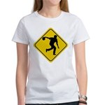 Bowling Crossing Sign Women's T-Shirt