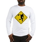 Bowling Crossing Sign Long Sleeve T-Shirt