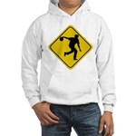 Bowling Crossing Sign Hooded Sweatshirt