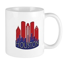 Houston Skyline NewWave Patriot Mug