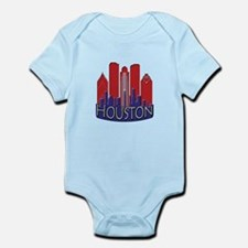 Houston Skyline NewWave Patriot Infant Bodysuit