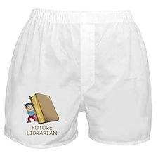 Future Librarian Boxer Shorts
