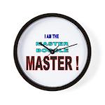 I am the Master Boggle MASTER Wall Clock