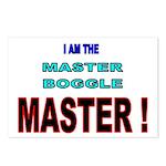 I am the Master Boggle MASTER Postcards (Package o