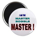 I am the Master Boggle MASTER Magnet