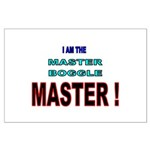 I am the Master Boggle MASTER Large Poster
