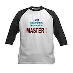 I am the Master Boggle MASTER Kids Baseball Jersey