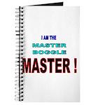 I am the Master Boggle MASTER Journal