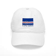 Flag of Baseball Cape Verde Baseball Cap