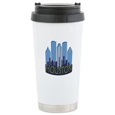 Houston Skyline NewWave Cool Travel Mug