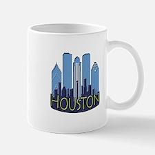 Houston Skyline NewWave Cool Mug