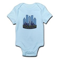 Houston Skyline NewWave Cool Infant Bodysuit