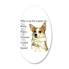RPSLS Little Dott 20x12 Oval Wall Decal