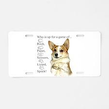 RPSLS Little Dott Aluminum License Plate