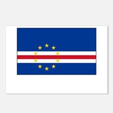 Cape Verde Flag Picture Postcards (Package of 8)