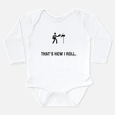 Mailman Long Sleeve Infant Bodysuit