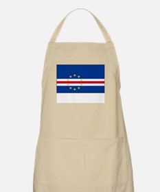 Cape Verde Flag Picture BBQ Apron