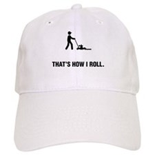 Lawn Mowing Baseball Cap