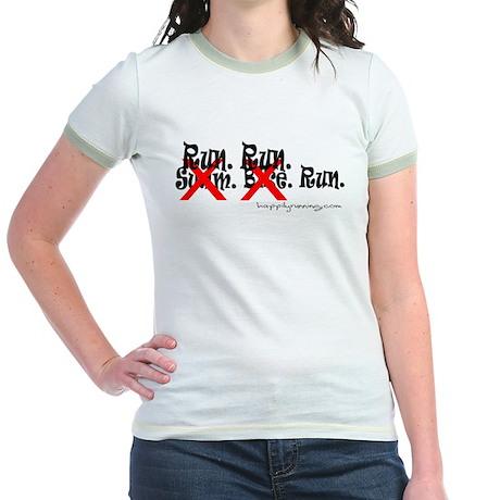 runrunrun Jr. Ringer T-Shirt