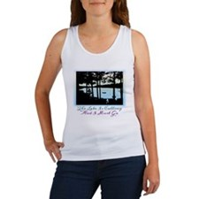 The Lake is Calling and I Must Go Women's Tank Top