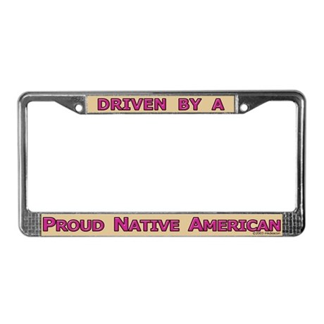Proud NA License Plate Frame