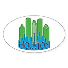 Houston Skyline NewWave Primary Decal