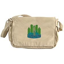 Houston Skyline NewWave Primary Messenger Bag