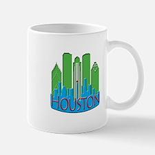 Houston Skyline NewWave Primary Mug