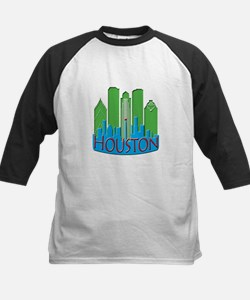 Houston Skyline NewWave Primary Tee