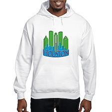Houston Skyline NewWave Primary Hoodie