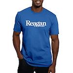 Reagan for President Men's Fitted T-Shirt (dark)