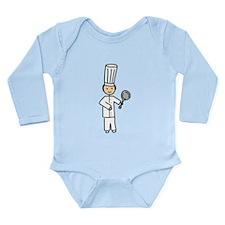 Master Chef Long Sleeve Infant Bodysuit
