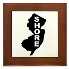 Jersey Shore Framed Tile
