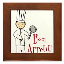 Bon Appetit Framed Tile