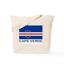 Cape Verde Flag Merchandise Tote Bag