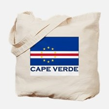 Cape Verde Flag Merchandise Tote Bag