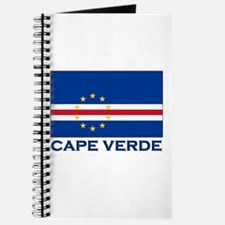Cape Verde Flag Merchandise Journal
