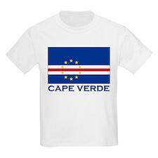 Cape Verde Flag Merchandise Kids T-Shirt