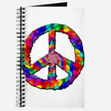 Psychedelic Peace Sign Journal