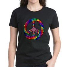 Psychedelic Peace Sign Tee