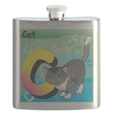C for Cat Flask