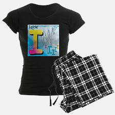 I for Icicle Pajamas