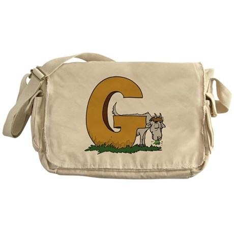 G For Goat Messenger Bag