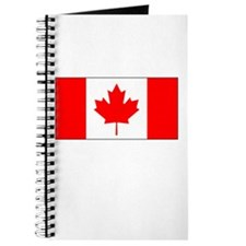 Canada Flag Picture Journal